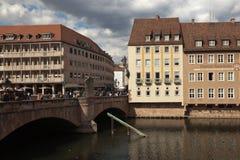 Hospital of the Holy Spirit. Nuremberg. Germany. Royalty Free Stock Photos