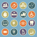 Hospital icon Stock Photography