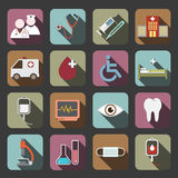 Hospital icon Royalty Free Stock Photos