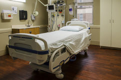Intensive care unit room Stock Photo
