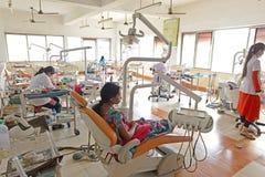 Hospital indio foto de archivo libre de regalías