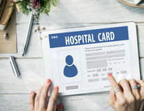 Hospital Insurance Card Identification Data Information Accident Stock Image