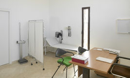 Hospital interior. Doctors office with furniture. Stock Images