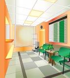 Hospital interior. (vector illustration Stock Image