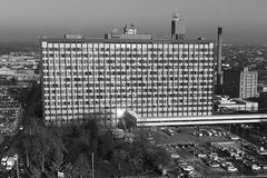 Hospital, Kingston upon Hull, east yorkshire hospital. Hospital, Kingston upon Hull, East yorkshire.hull royal infirmary tower block, east yorkshire hospital Stock Image