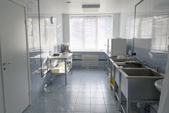 Hospital kitchen Stock Images