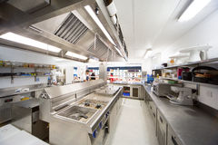 Hospital Kitchen Stock Image