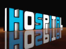 Hospital light Royalty Free Stock Images