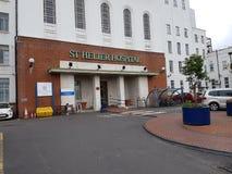Hospital mais helier do St Fotografia de Stock