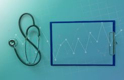 hospital medical Doctor healthcare examination business analysis Royalty Free Stock Images