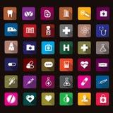 Hospital icon. Medical icons use in hospital design Stock Photo