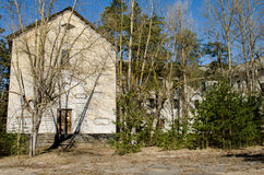 Hospital mental abandonado Foto de archivo libre de regalías