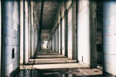 Hospital mental abandonado en el Brasil Fotografía de archivo libre de regalías
