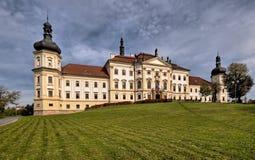 Hospital militar Klasterni Hradisko - Olomouc Imagem de Stock Royalty Free