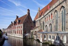 Hospital Museum Sint-Jan in Brugge, Belgium Royalty Free Stock Image