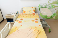 Hospital newborn room Royalty Free Stock Photos
