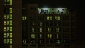 Hospital Night stock video