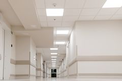 HOSPITAL OFFICE HALL Royalty Free Stock Image