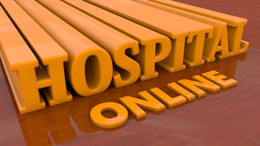 Hospital online Stock Photography
