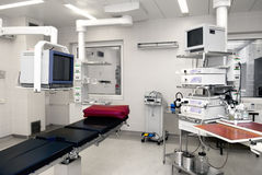 Hospital operating room Stock Photo