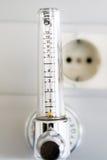 Hospital Oxygen supply valve Stock Photography