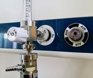 Hospital oxygen supply Stock Photos