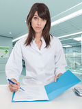 Hospital paperwork Stock Images