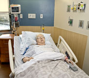 Hospital Patient Royalty Free Stock Photography