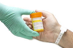 Hospital Patient Medication Stock Photography