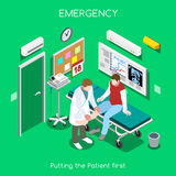 Hospital 05 People Isometric Stock Photography