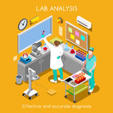 Hospital 07 People Isometric Stock Images