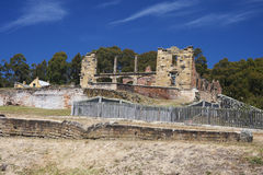 The hospital of Port Arthur Royalty Free Stock Images