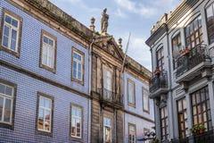 Hospital in Porto Royalty Free Stock Photos