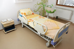 Hospital pregnancy room Royalty Free Stock Photography