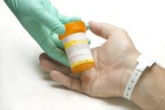 Hospital Prescription Royalty Free Stock Image