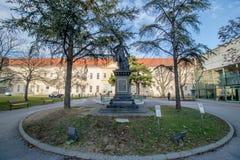 Hospital principal velho em Viena, Áustria, dia, exterior Imagem de Stock Royalty Free