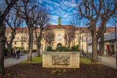 Hospital principal velho em Viena, Áustria, dia, exterior Fotografia de Stock