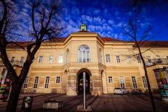 Hospital principal velho em Viena, Áustria, dia, exterior Imagens de Stock
