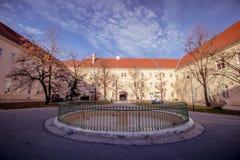 Hospital principal velho em Viena, Áustria, dia, exterior Fotografia de Stock Royalty Free