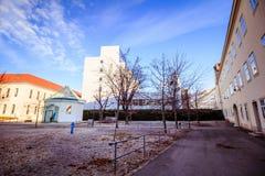 Hospital principal velho em Viena, Áustria, dia, exterior Imagem de Stock