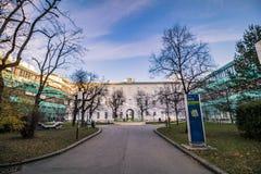 Hospital principal velho em Viena, Áustria, dia, exterior Foto de Stock Royalty Free