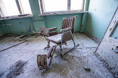 Hospital in Pripyat Royalty Free Stock Photography