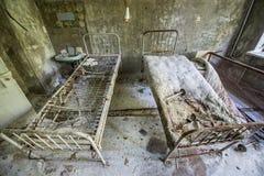 Hospital in Pripyat Stock Photos