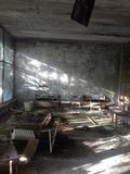 Hospital, Pripyat stock photos