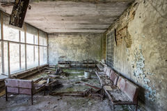 Hospital in Pripyat Royalty Free Stock Photography