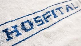 Hospital Property Towel Royalty Free Stock Photos