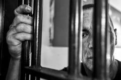 Hospital psiquiátrico criminal Imágenes de archivo libres de regalías