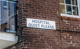 Hospital Quiet Royalty Free Stock Photos