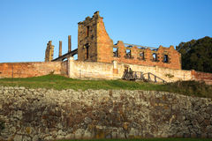 Hospital relic at Port Arthur. The remains of the hospital at historical Port Arthur penitentiary royalty free stock image