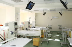 Hospital room interior Royalty Free Stock Photos